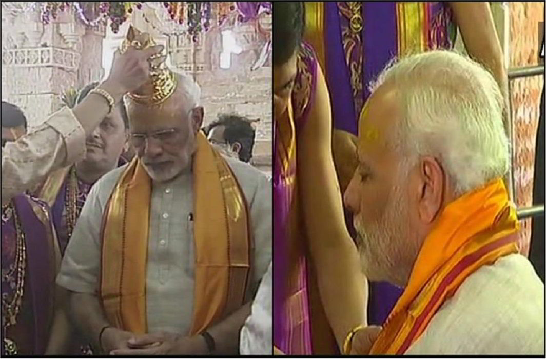 Prime Minister Narendra Modi is on a two-day visit to Gujarat today.