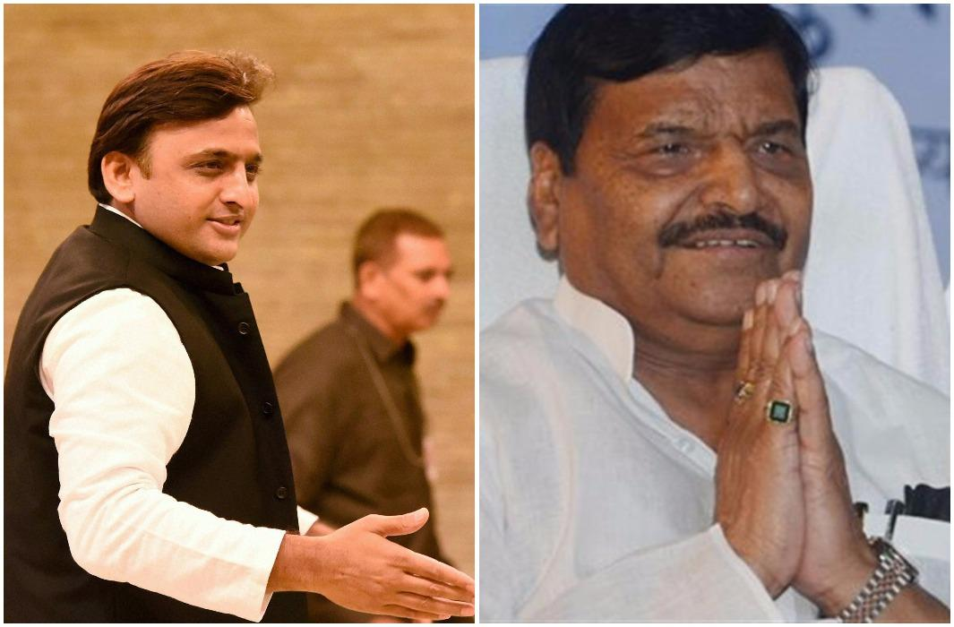 Shivpal congratulates Akhilesh for the post of President in advanced and National Convention will startfrom tomorrow