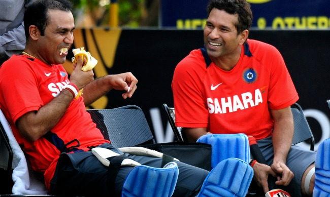 Sachin Tendulkar and Virender Sehwag