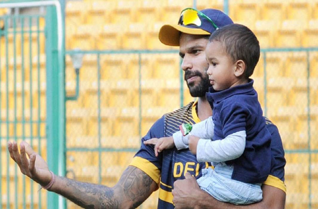 shikhar dhawan emotional to watched jorawar video