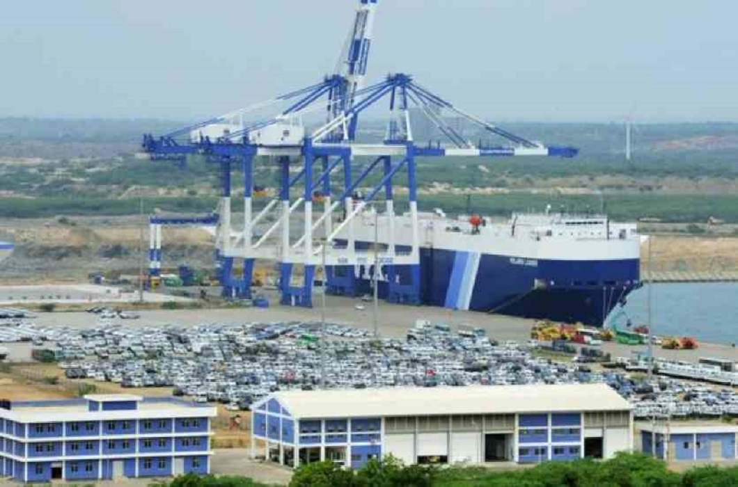 india will make airport in hambantota and china socked