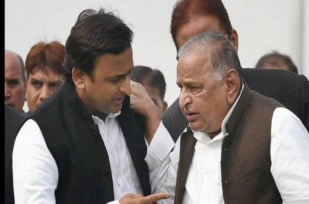 Akhilesh Yadav & Mulayam Singh Yadav