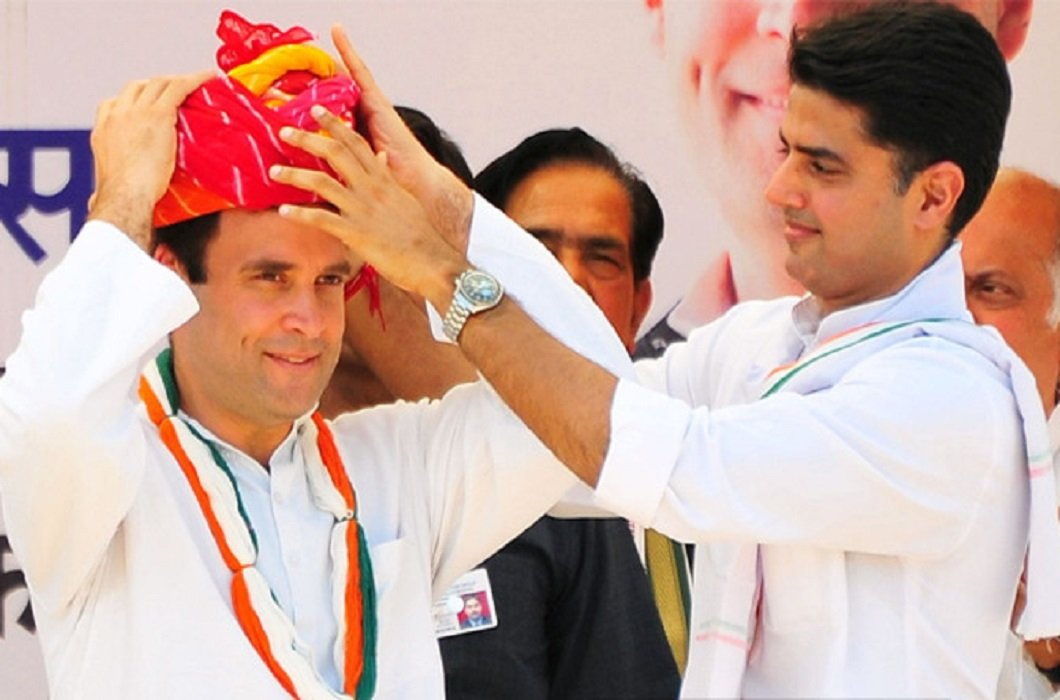 Sachin Pilot said Coronation of Rahul Gandhi can be done after Diwali