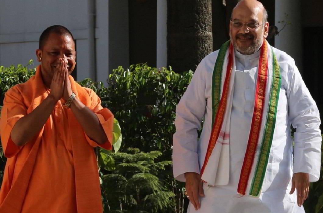 CM Yogi & Amit Shah