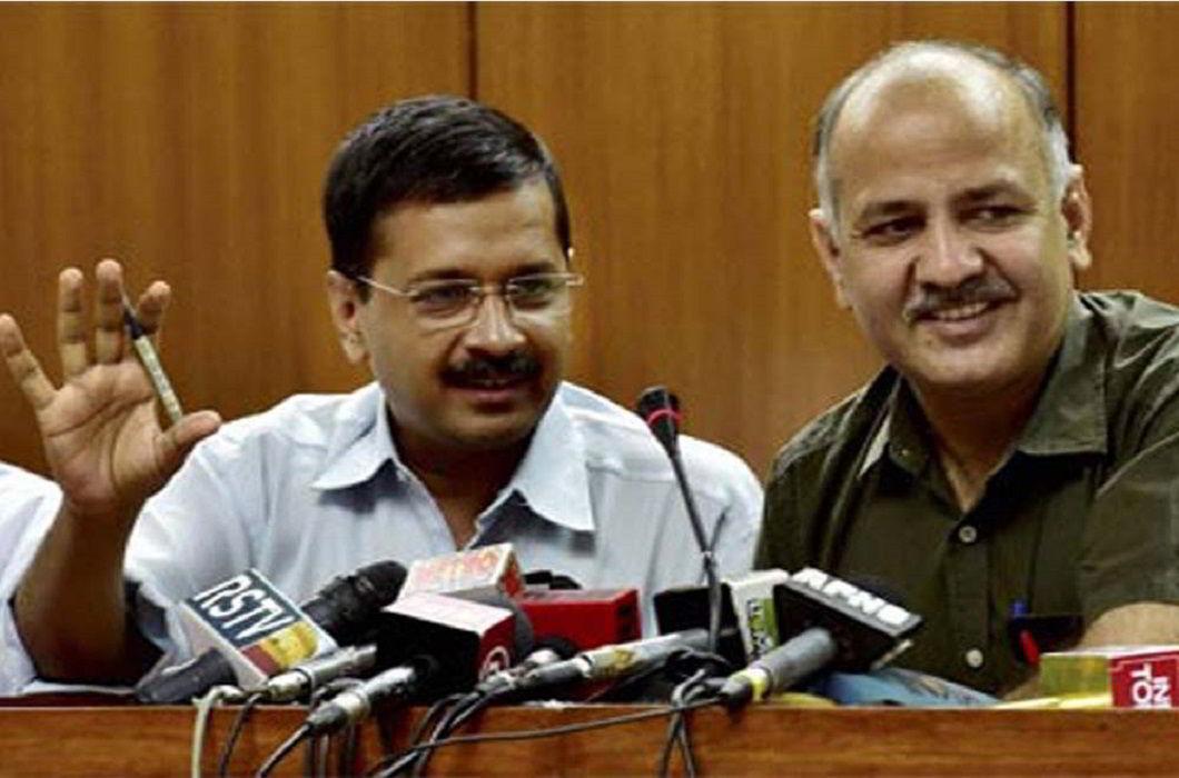Arvind Kejriwal & Manish Sisodia