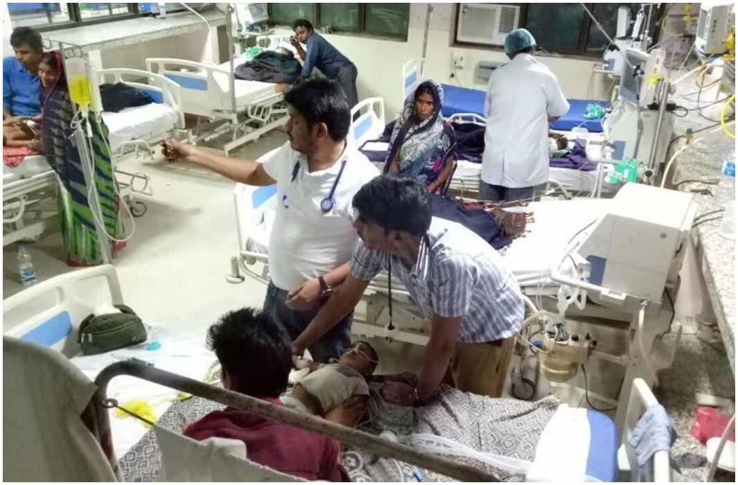 30 children died in Gorakhpur's BRD hospital in last 48 hours