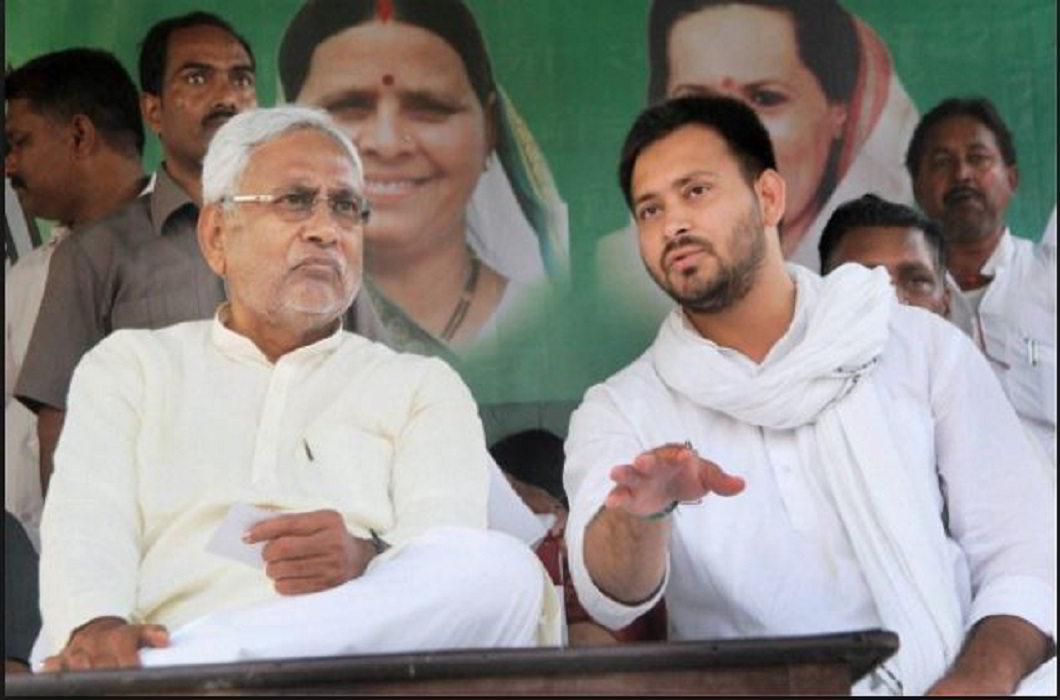 Nitish Kumar & Tejashwi Yadav