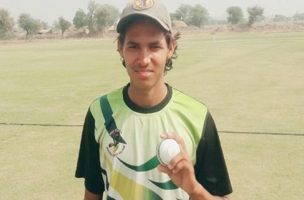 15-years-old boy set a records and he took all the wicket in t-20 cricket match
