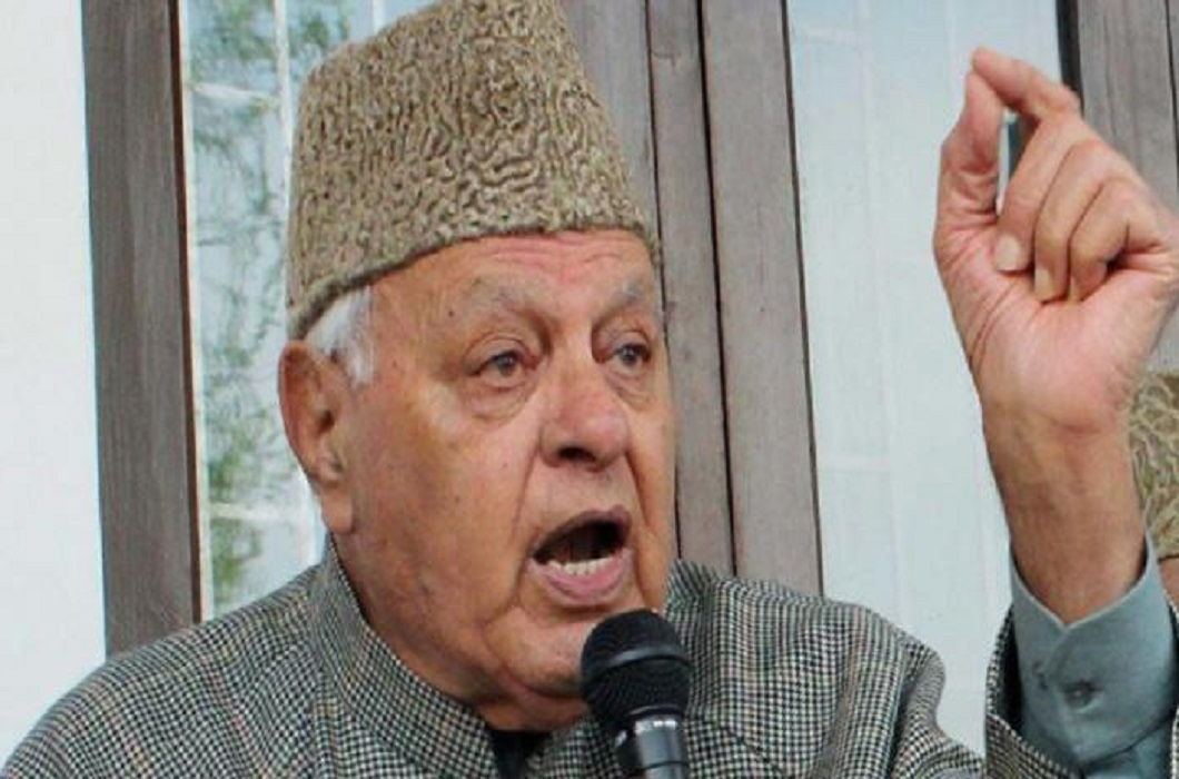 POK belongs to Pakistan and this thing will not change said Farooq Abdullah
