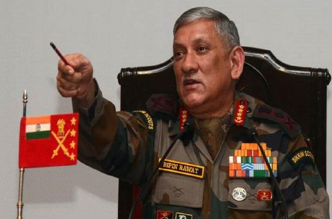 General Bipin Rawat said that in the future the nature of the war zone would be