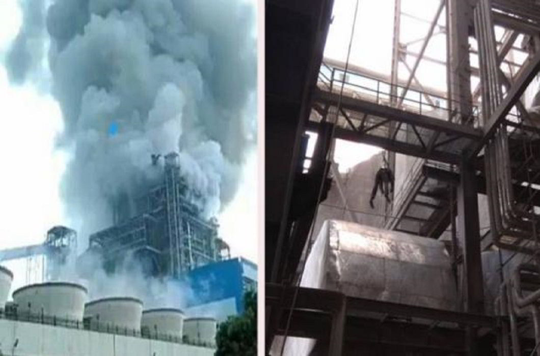 Accident at the NTPC plant in Raebareli