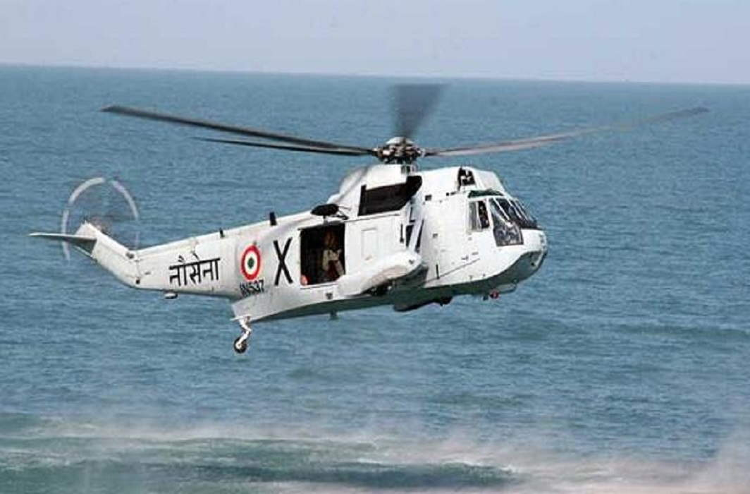 indian-navy helocopter