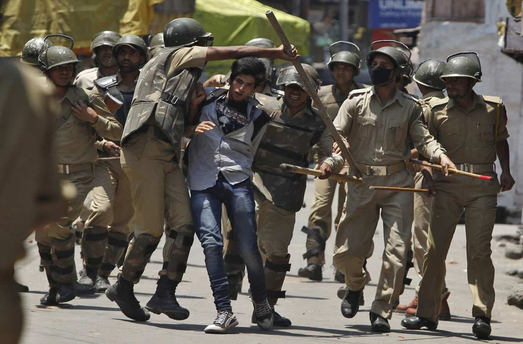 DGP said Improved circumstances in Kashmir and Fall in stone incidents