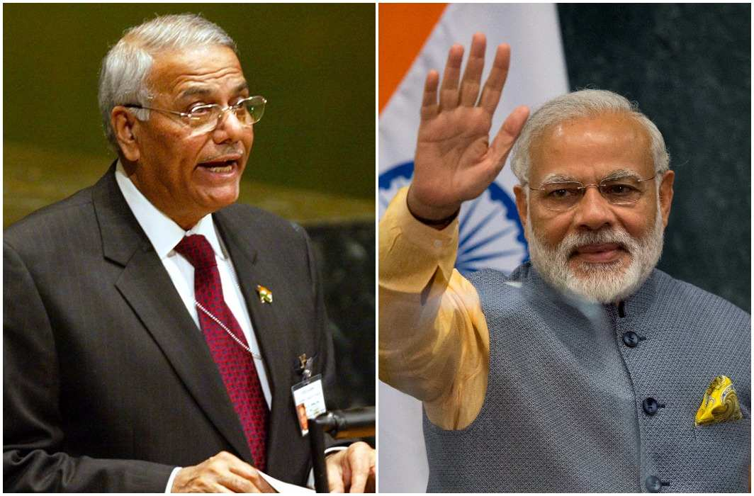Yashwant Sinha told tuglaki farman to demonetisation and also called 'Karela Chadda Neem Par' to gst