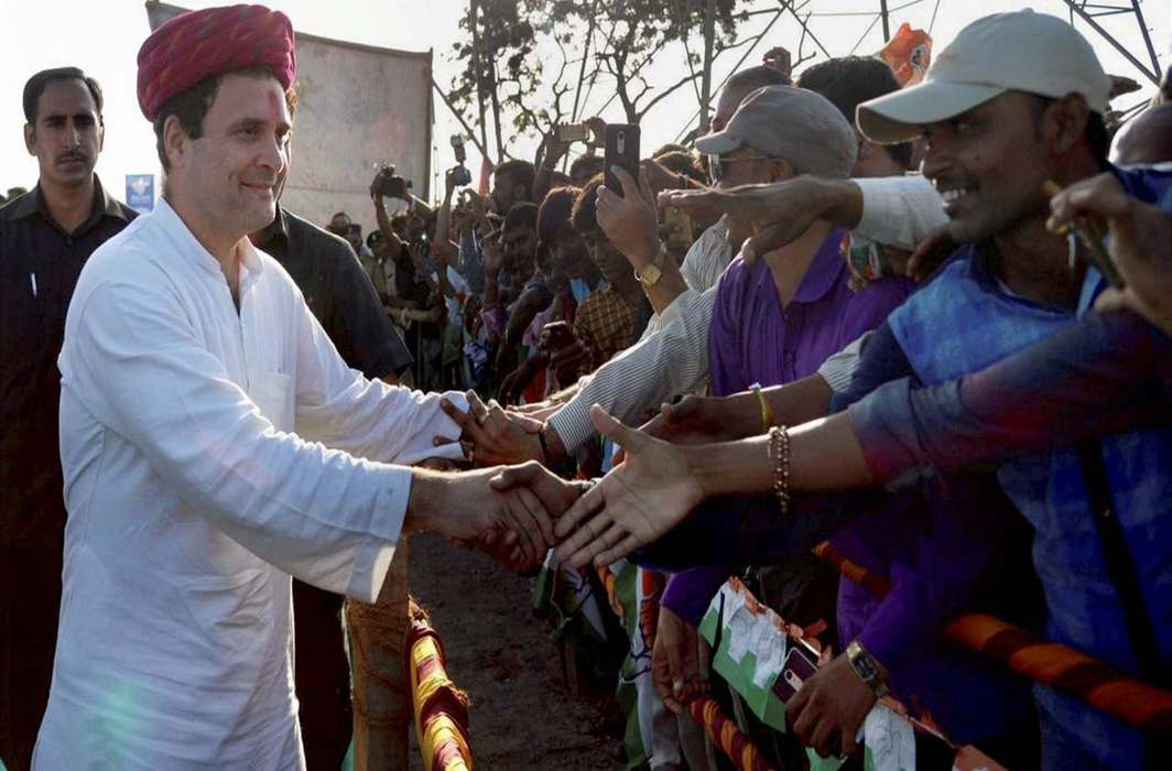 Rahul Gandhi on a three day tour of Gujarat, said the country does not need Gabbar tax