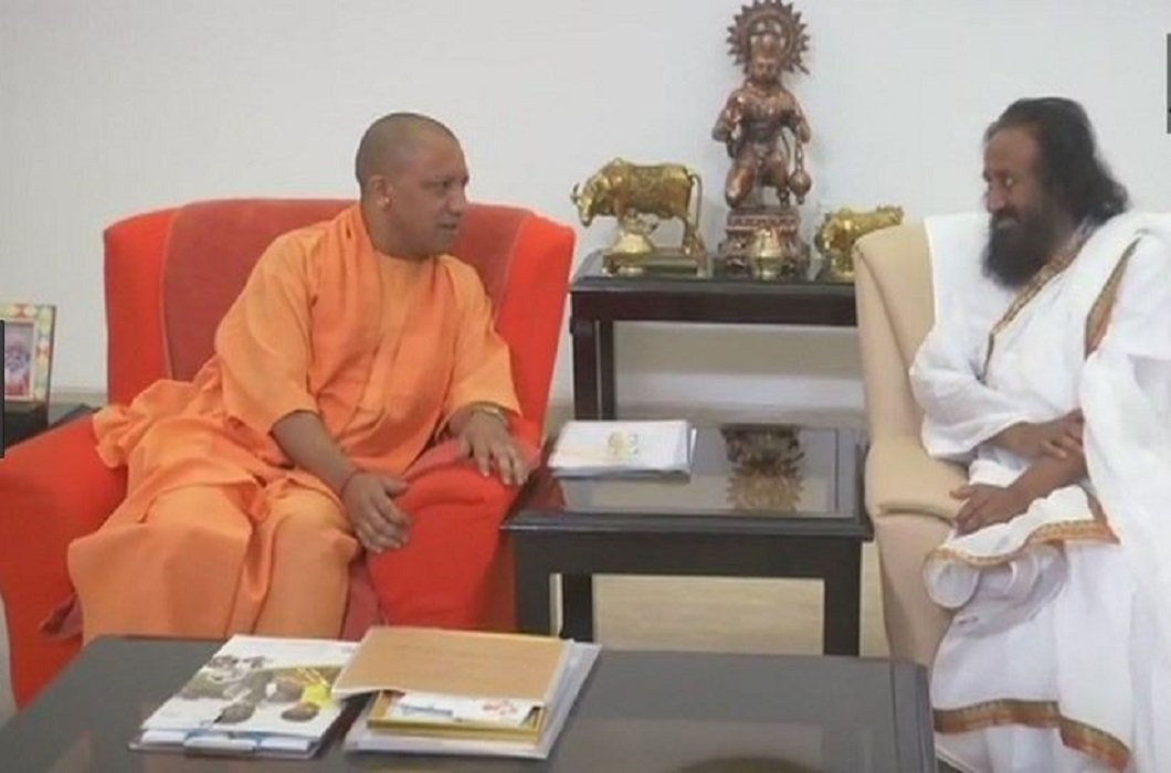 sri sri ravi shankar will talk to All the parties and yogi said