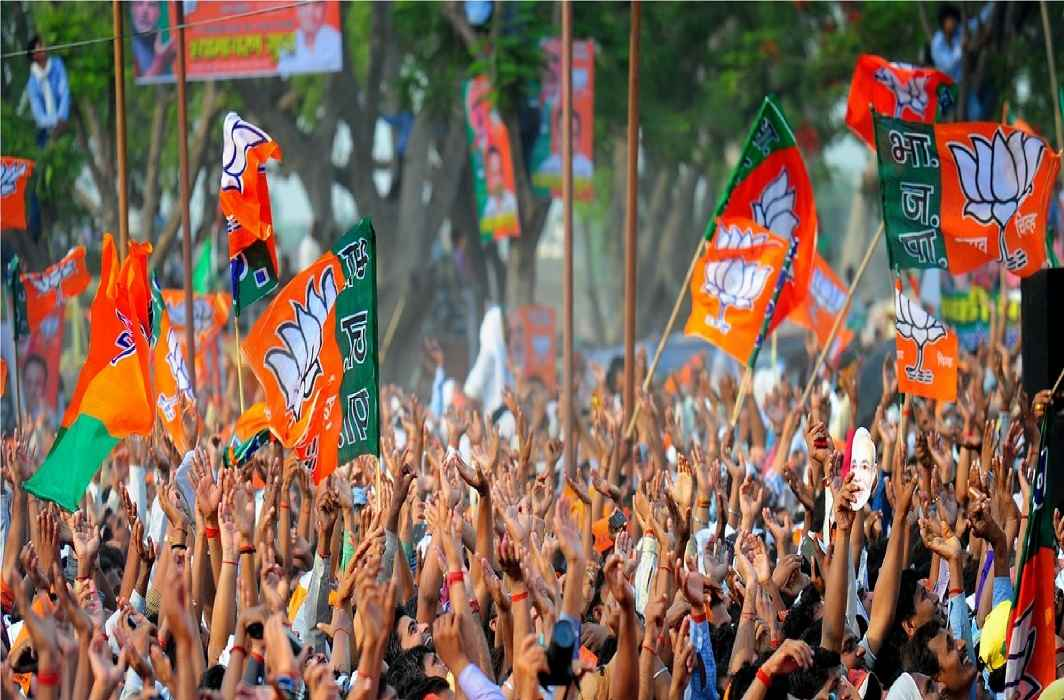 Now BJP completes a century in Gujarat Seats