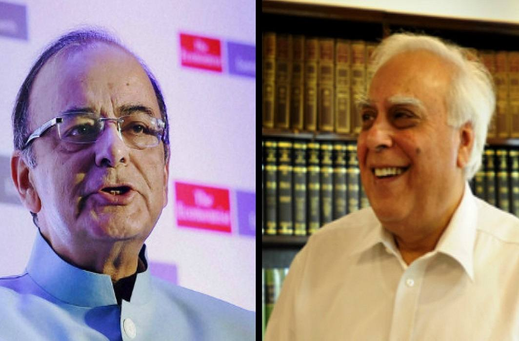 Sibal said BJP did 'scam of lies', Jaitley said Congress should not be more happy