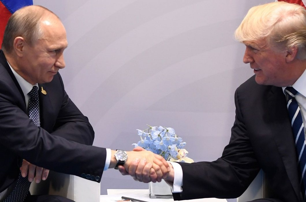Putin thanked to trump for Warned of terrorist attacks in Russia