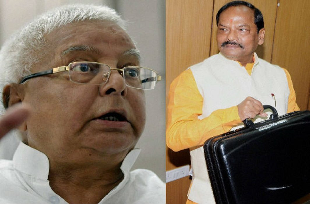 Raghuvar Das said vvip teatment not in jail for lalu yadav
