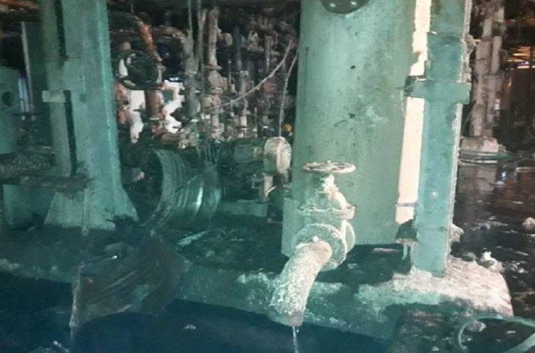 sugar mill blast