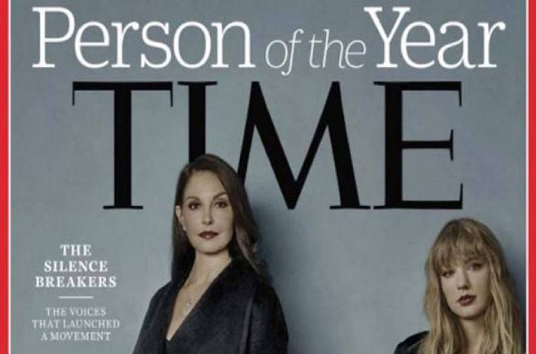 Not 'Person', but 'Time' chose the #MeToo Campaign 'Person of the Year'
