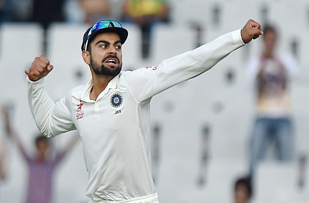 indian Captian Virat Kohli becomes No. 1 In test cricket