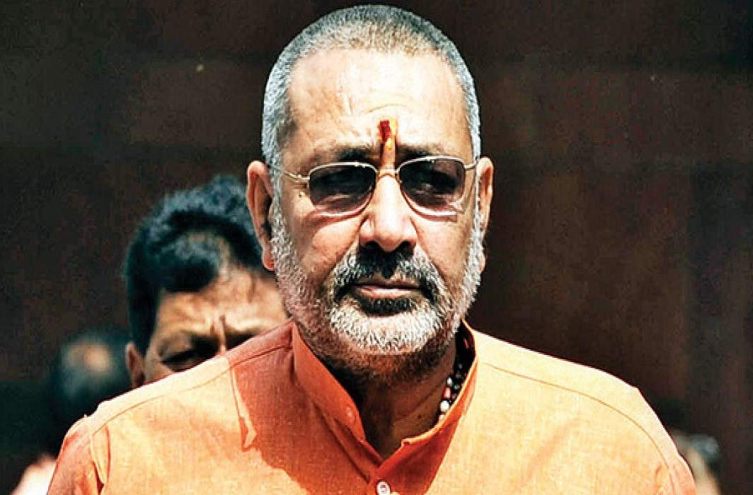 Union Minister of State, Giriraj Singh has questioned the film 'Padmavat'