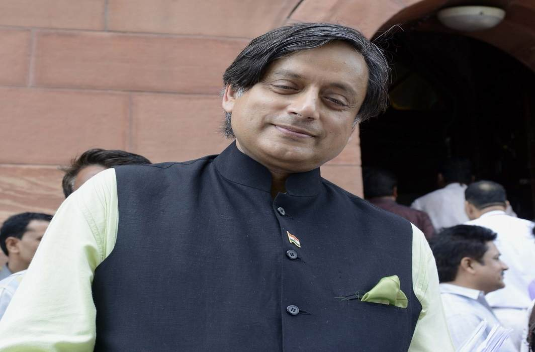 Congress MP Shashi Tharoor has been trapped by a man stranded in the absence of a sister and a pistol