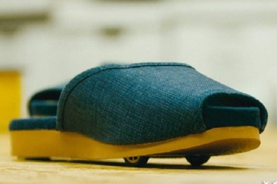 Nissan Motors has prepared such slippers that will run on your own