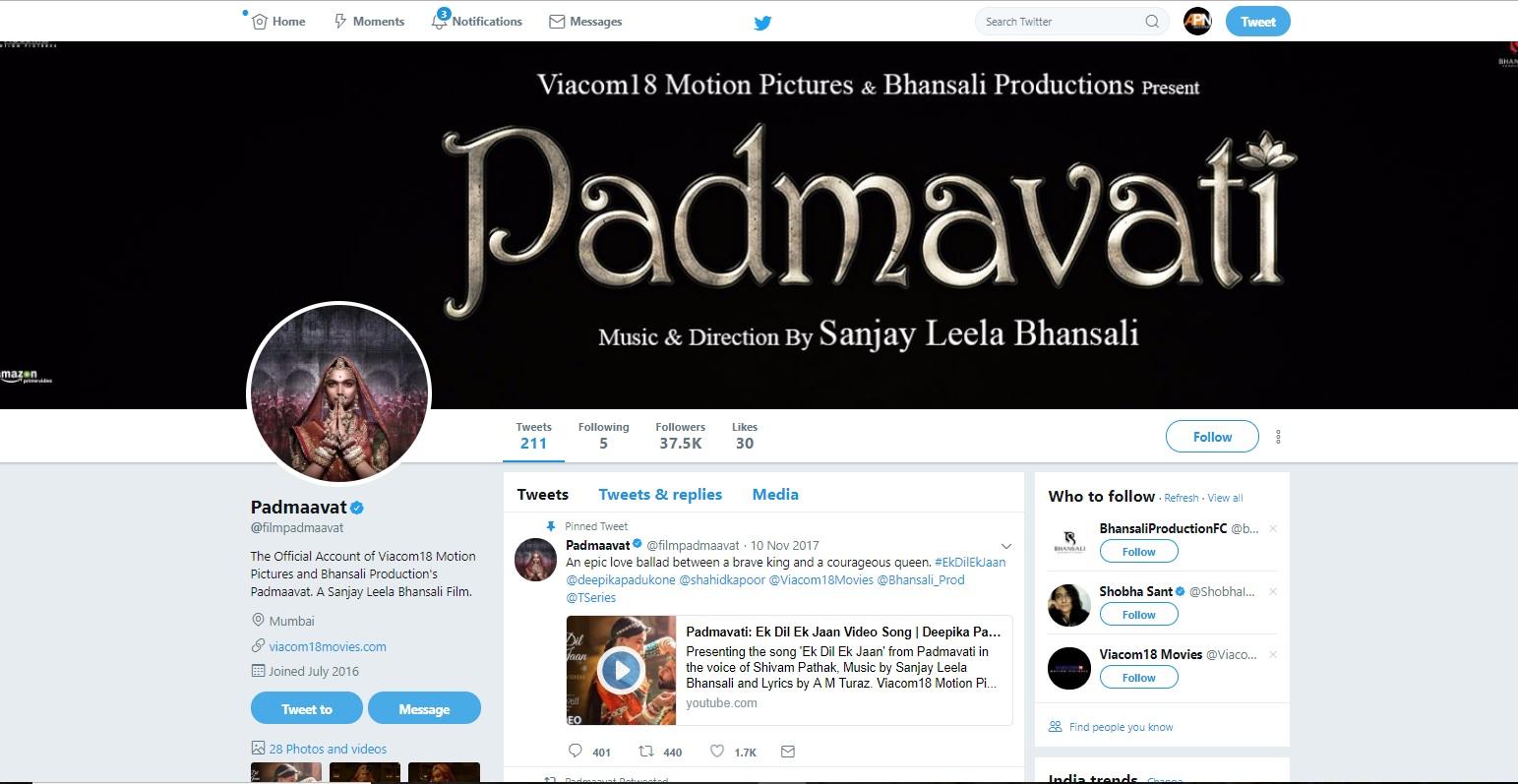 Karni Sena threatens to release 'Padmaavat'