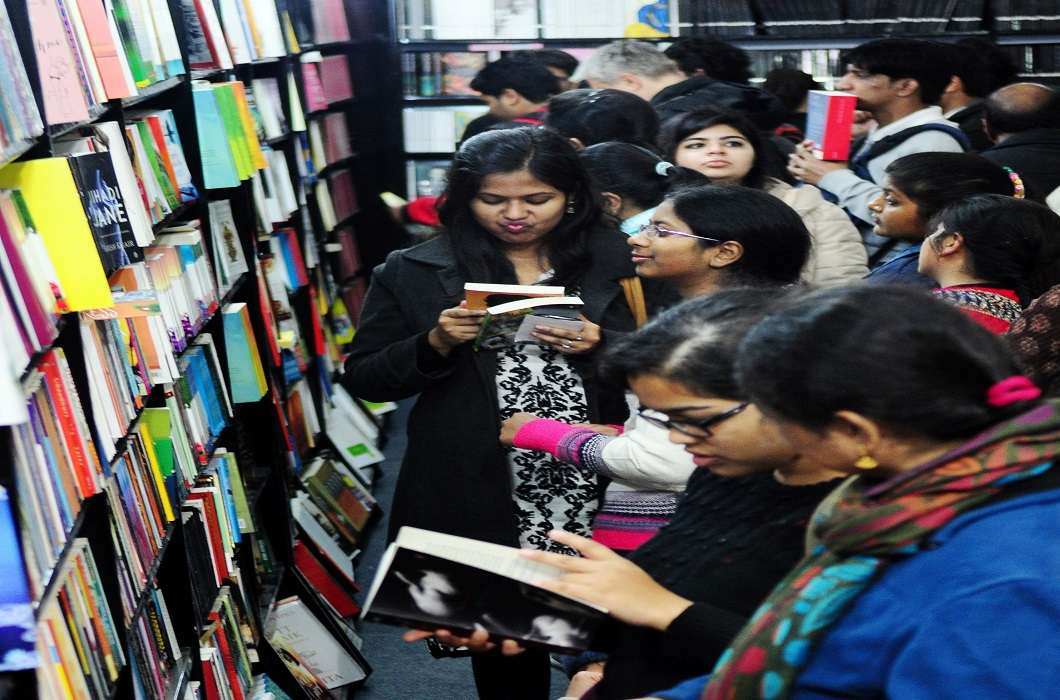 Pragati Maidan has been decorated for the nine-day World Book Fair