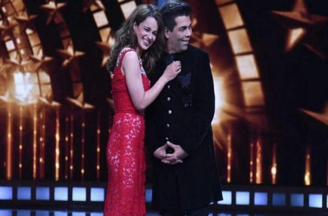 Karan Johar welcomes guests with poison said Kangna Runout
