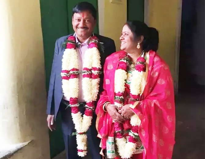 Daughter's widowed mother's second marriage, father's revenue inspector