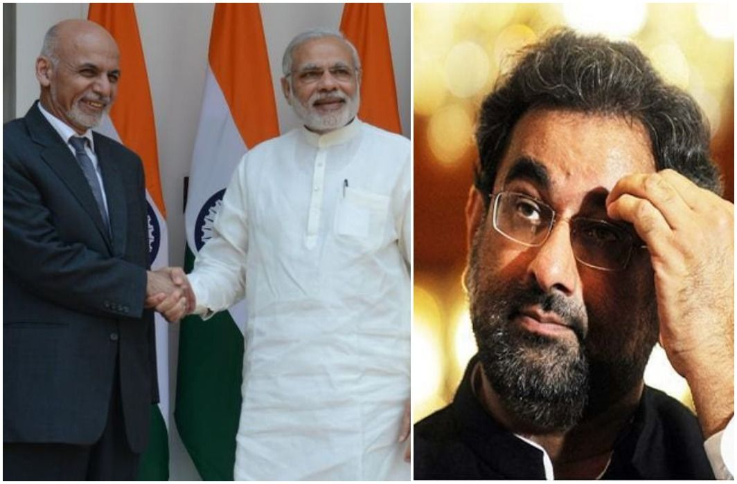 Afghan President cut the phone of Pakistani Prime Minister Shahid Abbasi and Told true friend to India