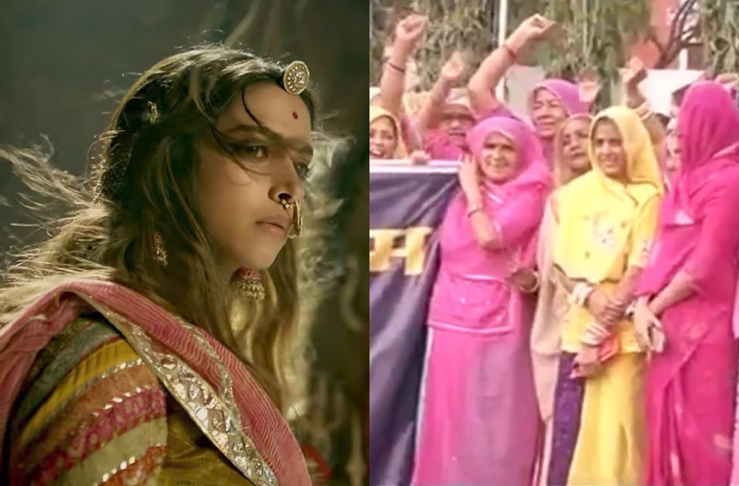 Padmavat may have got green signal from the censor board, but protests are still going on