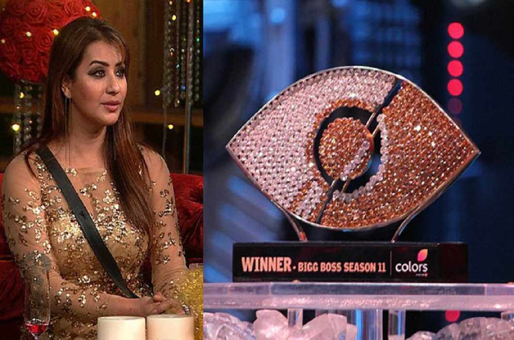 Shilpa Shinde winner of Big Boss-11 and Hina Khan first runner up