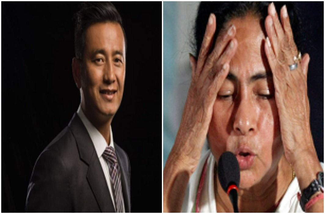 Former Indian footballer Baichung Bhutia has resign Mamta Banerjee party TMC