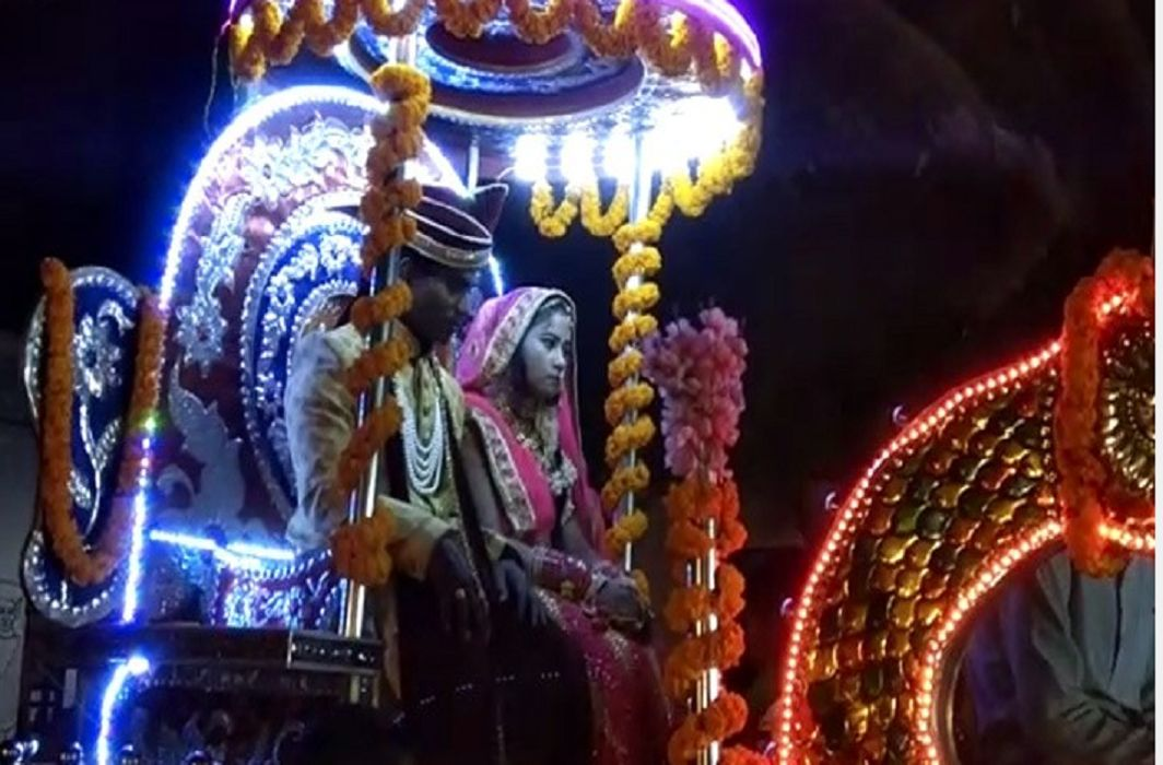 Unique wedding in Kashi