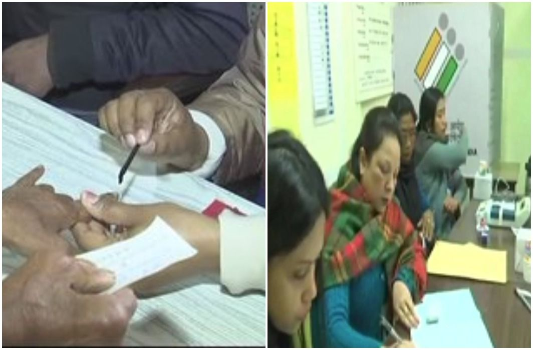 voting start in Meghalaya and Nagaland