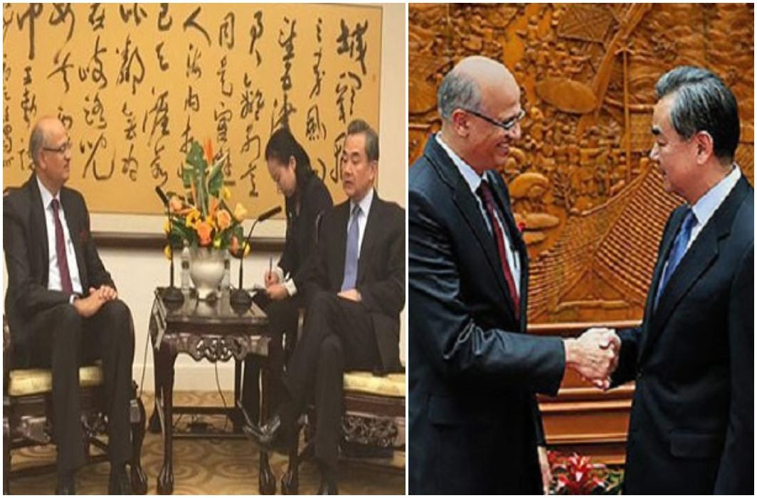 Indian Foreign Secretary Vijay Gokhale, Pakistan unhappy with the visit to China