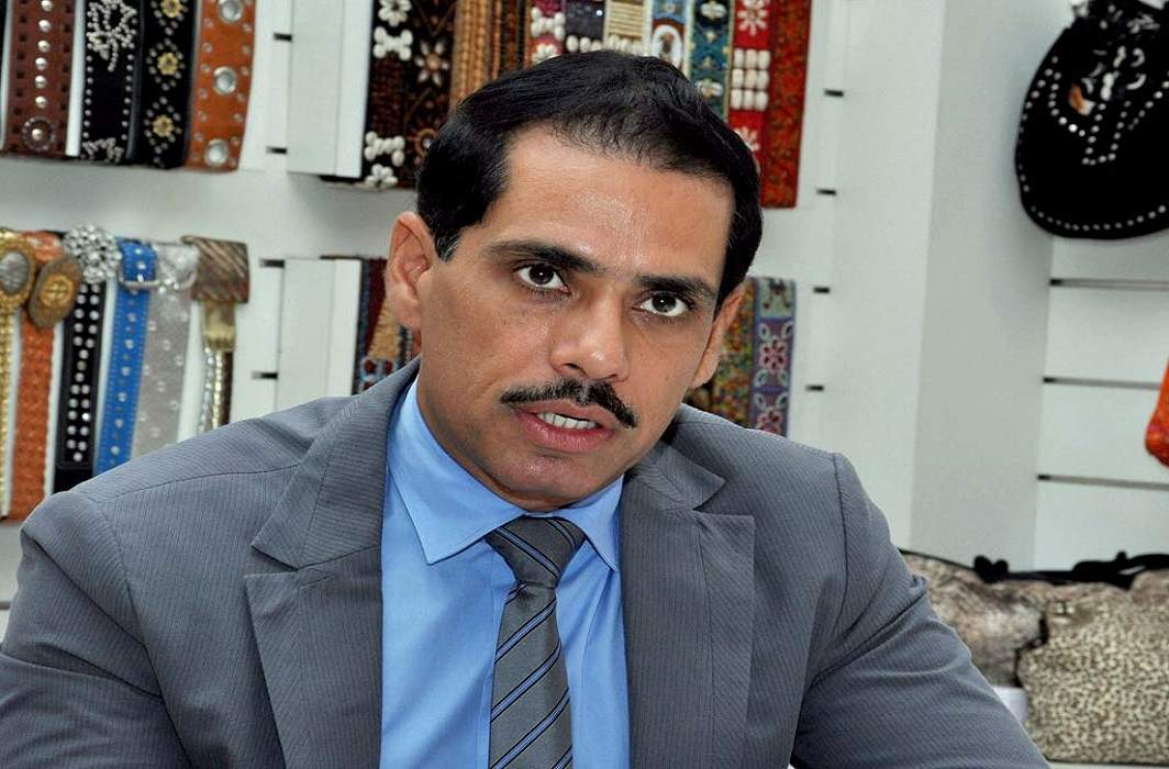 In the case of Bikaner land scam, ED raided the whereabouts of Robert Vadra
