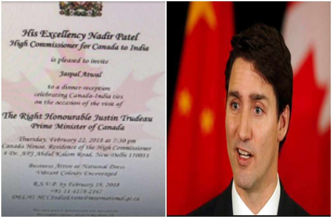 controversy on Khalistani terrorist on Canadian PM Justin Trudeau's dinner guest list