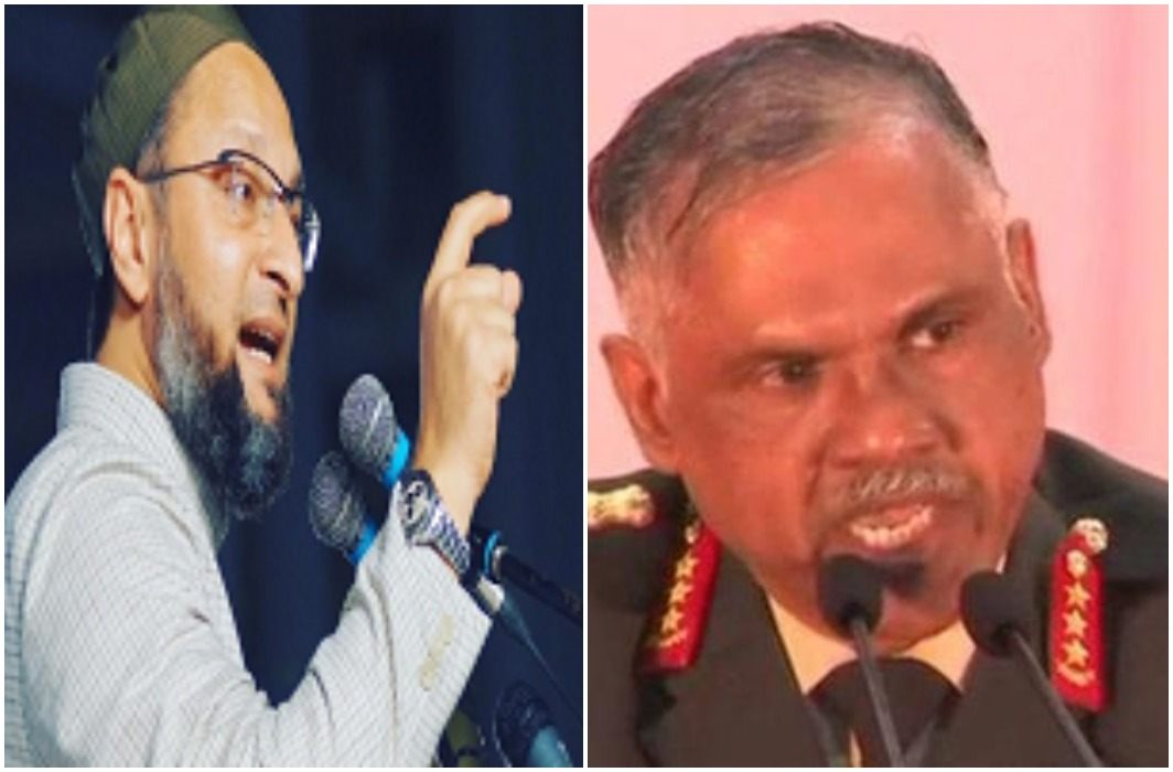 Army reply to owaisi On the martyrs and said- Martyrs are not of any religion
