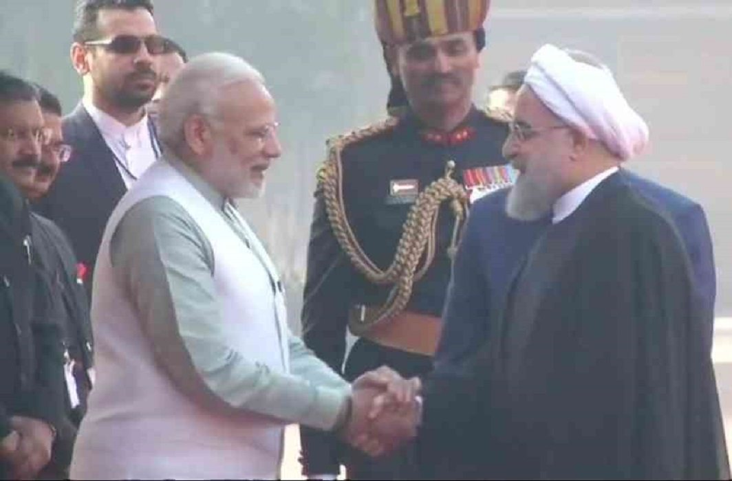 Iranian President Rouhani can hand over Modi and Kovind to the keys of Chabahar port