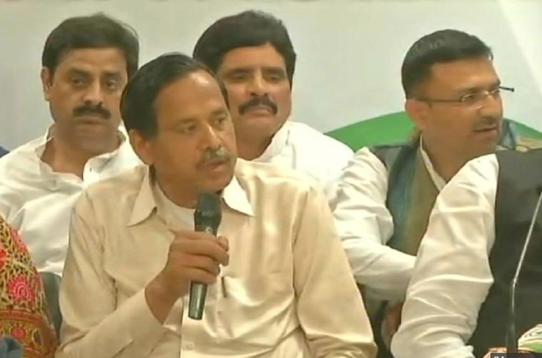 Former BSP Leader Nasimuddin has join the congress