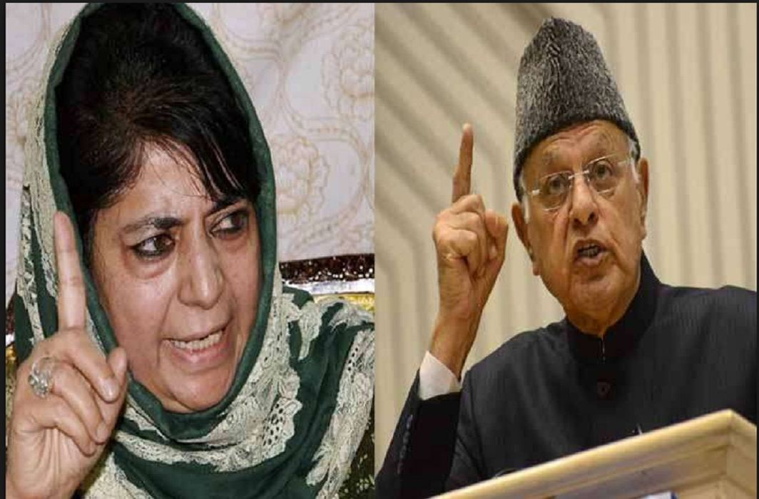 To Stop terrorist incidents Mehbooba has talks with Farooq