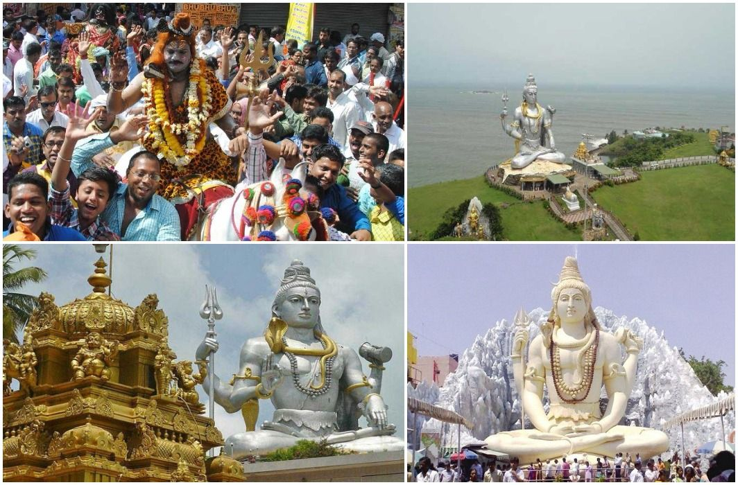 maha shivaratri celebration across the country, huge crowd in temples