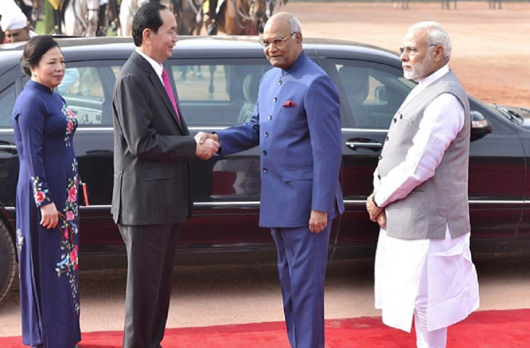 The President of Vietnam on the tour of India and many agreements between the two countries