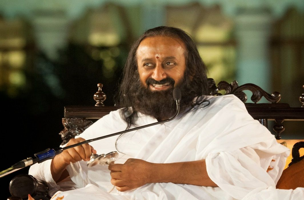 the controversial statement by Sri Sri Ravi Shankar